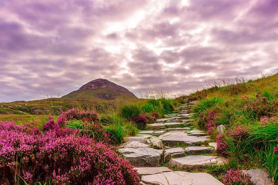 Wandelen Ierland
