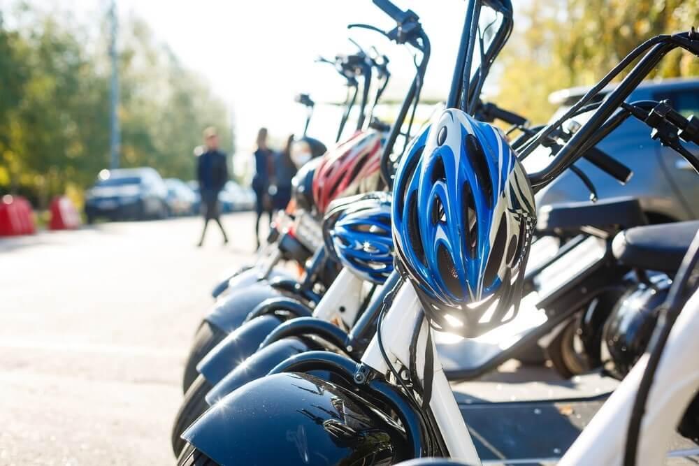 Elektrische scooter voor senioren