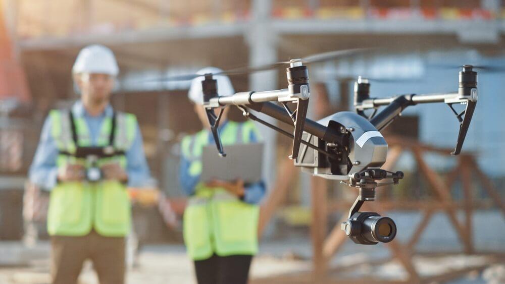 Tijd winnen met een drone